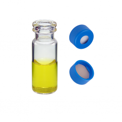 Vial Kit: 2ml Clear, Snap Top, BASIK™ Vials & BASIK™ Snap Caps w/non-slit Septa, 100/PK
