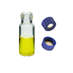 Vial Kit: 2ml Clear, Screw Top BASIK™ Vials & BASIK™ Screw Caps w/non-slit Septa, 100/PK