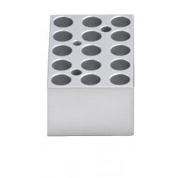 Dry Bath: Block, 15 x 1.5ml or 2ml for myBlock™ Mini, 1/EA