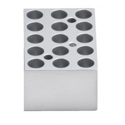 Dry Bath: Block, 15 x 1.5ml  tubes for myBlock™ Mini, 1/EA