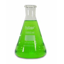 Erlenmeyer Flasks: 1L Clear Glass, Standard Rim 6/PK