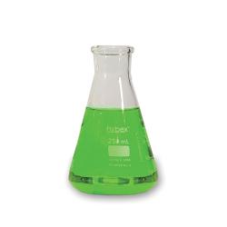 Erlenmeyer Flasks: 250mL Clear Glass, Standard Rim 12/CS