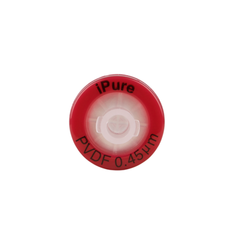 PVDF Syringe Filter, IPure™ Brand, 0.45µm, 13mm Housing