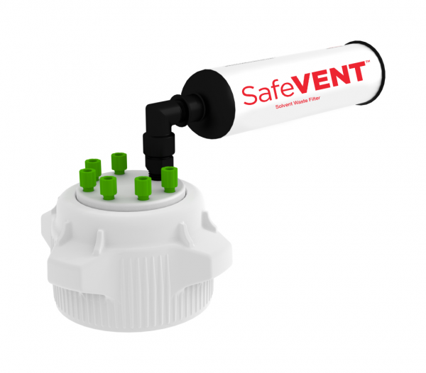 Swivel Cap Kit, 83mm with a SafeVENT™ Filter 1/EA