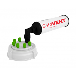 Swivel Cap Kit, 70mm with a SafeVENT™ Filter 1/EA
