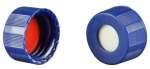 Vial Kit: 1.8ml Clear, Screw Top, AQ Max Recovery Vials & Soft-Guard Screw Caps w/non-slit Septa, 100/PK