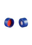 Vial Kit: 2ml Amber, Snap Top BASIK Vials w/write-on Patch & Soft-Guard Snap Caps w/pre-slit Septa, 100/PK