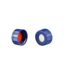 Vial Kit: 1.2ml Clear Screw Top, RSA MRQ Vials & Soft-Guard Screw Caps w/non-slit Septa, 100/PK