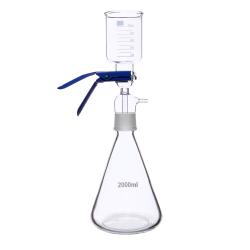 Filter Degasser Assembly, 2L Glass Receiving Flask, 500mL Glass Funnel. 1/EA
