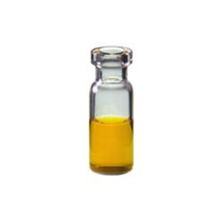 Vials: Autosampler, 2ml, Crimp Top, 11mm, Clear. BASIK Brand, 100/PK