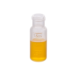 Vials: Autosampler, 2ml, Screw Top, 9mm, Clear w/fill lines, Plastic, MicroSolv™ Brand, 100/PK