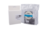 Individual Cassette Lab tape for LABeler™ 12mm Blue with White print 1/EA