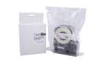Individual Cassette Lab tape for LABeler™ 24mm Clear with Black print 1/EA