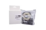 Individual Cassette ULT Lab tape for LABeler™ 24mm White with Black print 1/EA