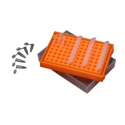 PCR Tube Rack, Rainbox, 5/PK
