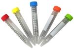 Centrifuge Tubes, SpectraTube™ brand, 15ml, Sterile, 50 tubes per rack, 5 Colors/rack, 500/CS