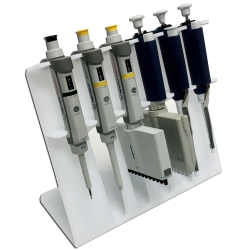 Pipette Stand, SureStand™, for 6 pipettes  / 4 Multi-Channel Windows, 1/EA