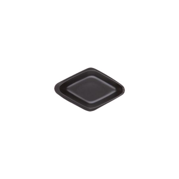 Weigh Boat, Diamond Shape, Black, 5ml, 35x55mm, 500/CS