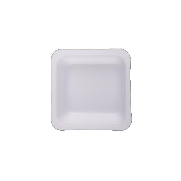 Weigh Boat, Square Shape, White, 100ml, 80x80mm, 500/CS